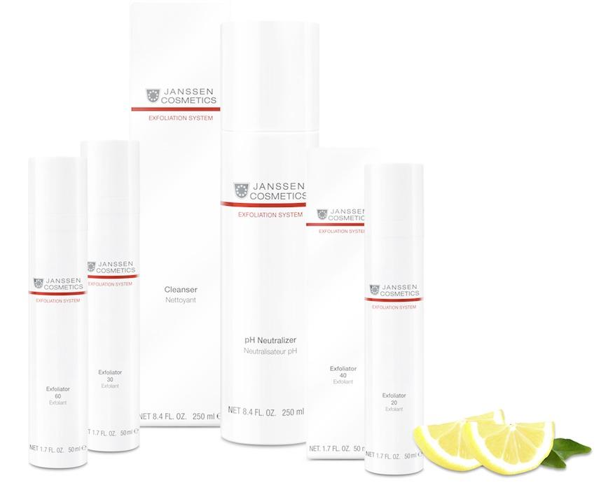 janssen cosmetics exfoliation system